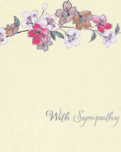 Floral Sympathy Boxed Note Cards