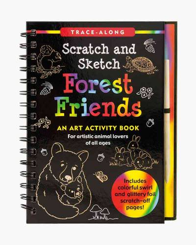 Forest Friends Scratch and Sketch Activity Book