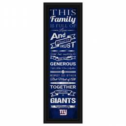 Prints Charming New York Giants This Family Sign