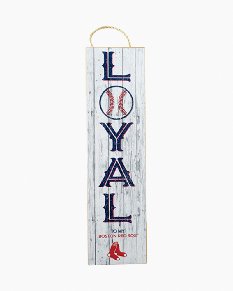 Prints Charming Boston Red Sox Loyal Wooden Sign