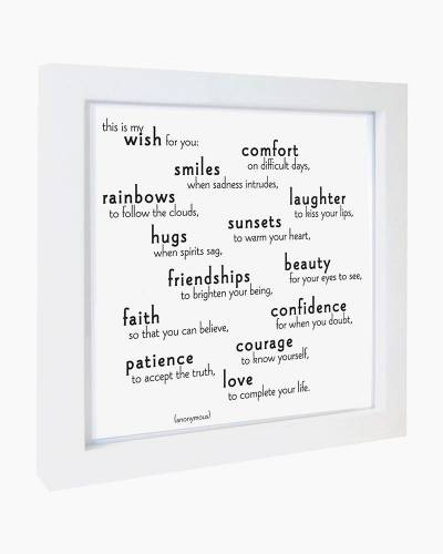 This is My Wish Quotable Framed Print
