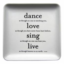 Quotable Cards Dance Love Sing Everything Dish