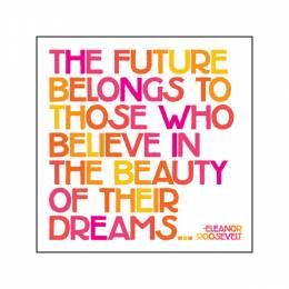 Quotable Cards Beauty Of Your Dream Magnet