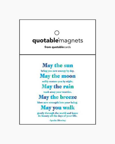 May You Walk Gently Inspirational Magnet