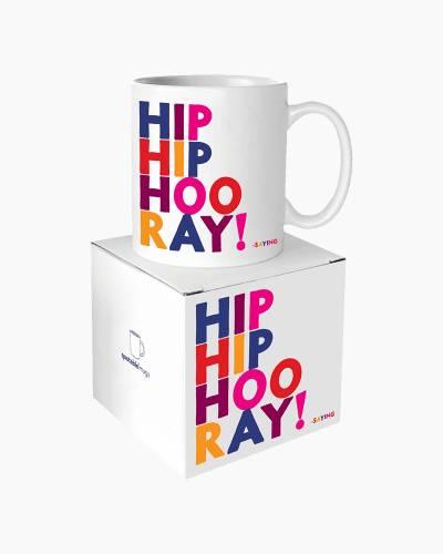 Hip Hip Hooray Quotable Mug