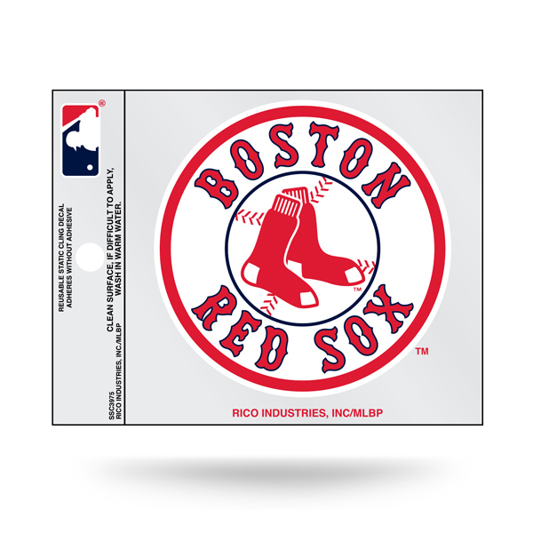 Extra Mile Boston Red Sox Static Cling Decal
