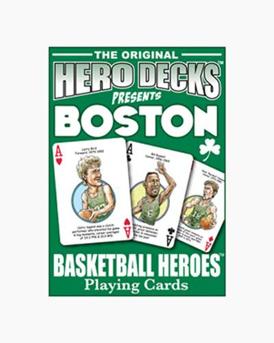 Boston Celtics Hero Deck Playing Cards