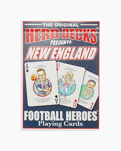 New England Patriots Hero Deck Playing Cards