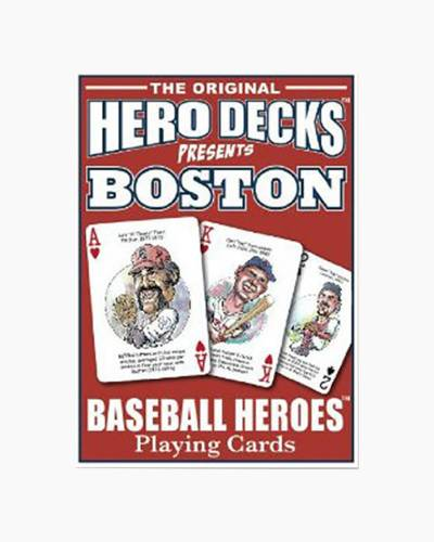 Boston Red Sox Hero Deck Playing Cards