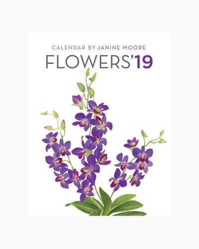Flowers 2019 Calendar