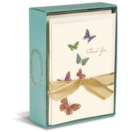 Graphique de France Thank You Notes - Butterfly