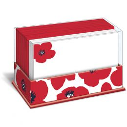 Graphique de France Poppy Punch Boxed Notes
