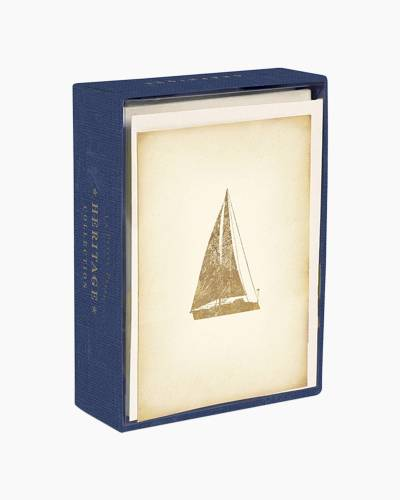 Heritage Sailboat Boxed Notes