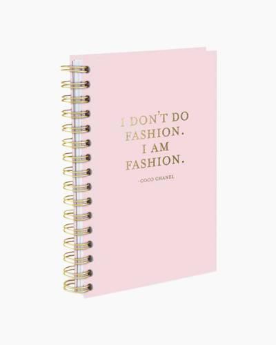 I am Fashion Hard Bound Journal