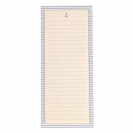 Graphique de France Gold Anchor Magnetic Notepad