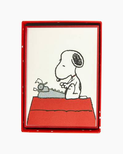 Peanuts Typewriter Boxed Cards