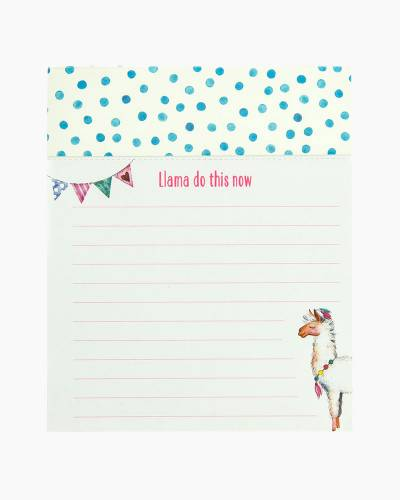 Llama Love Jotter Notepad