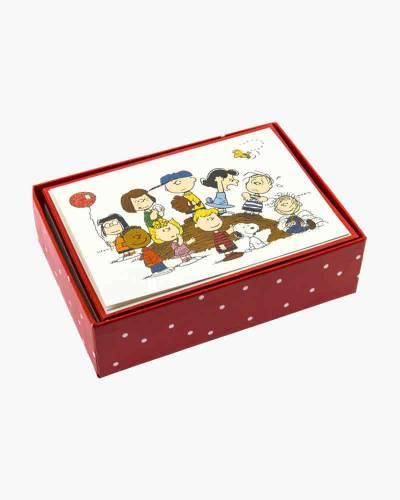 Peanuts Gang Boxed Cards Set