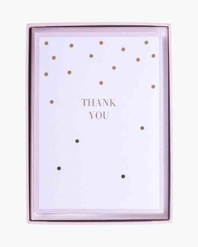 Soft Pink Dots Boxed Cards Set