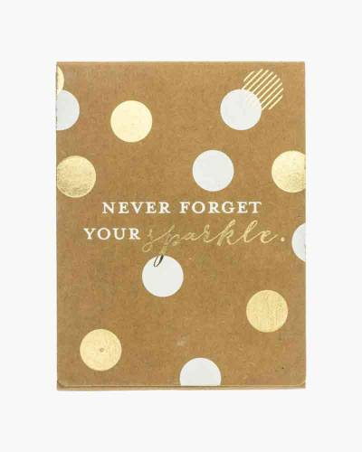 Never Forget Your Sparkle Pocket Note Pad