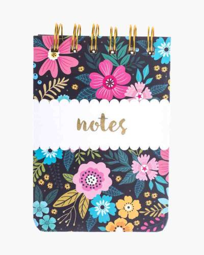 Navy Floral Petite Journal