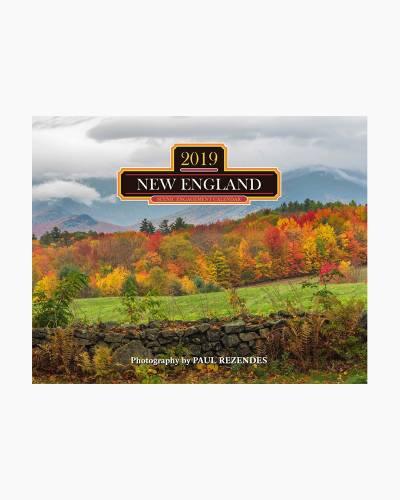 2019 New England Calendar