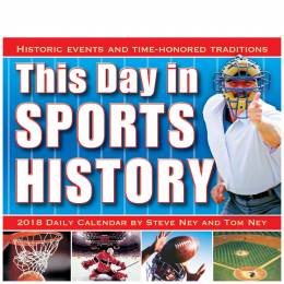Sellers Publishing This Day in Sports History Day-to-Day 2018 Calendar