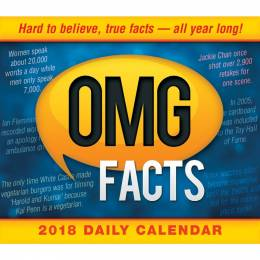 Sellers Publishing OMG Facts Day-to-Day 2018 Calendar