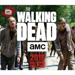 Sellers Publishing The Walking Dead Trivia Day-to-Day 2018 Calendar