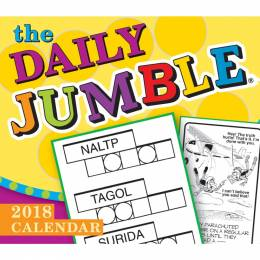 Sellers Publishing Jumble Day-to-Day 2018 Calendar