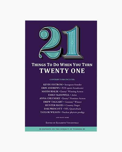 21 Things To Do When You Turn 21 (Paperback)