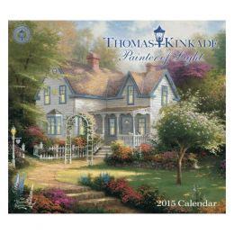 Thomas Kinkade Thomas Kinkade Painter of Light 2015 Deluxe Wall Calendar