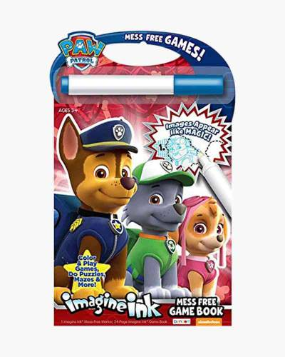 Paw Patrol Imagine Ink Activity Book