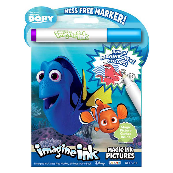 Bendon Disney/Pixar Finding Dory Imagine Ink Activity Book