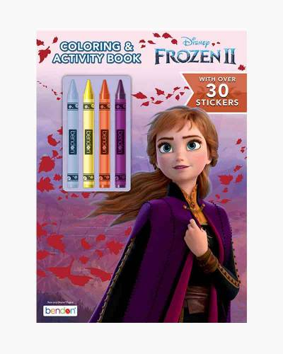 Disney's Frozen Coloring and Activity Book with Crayons