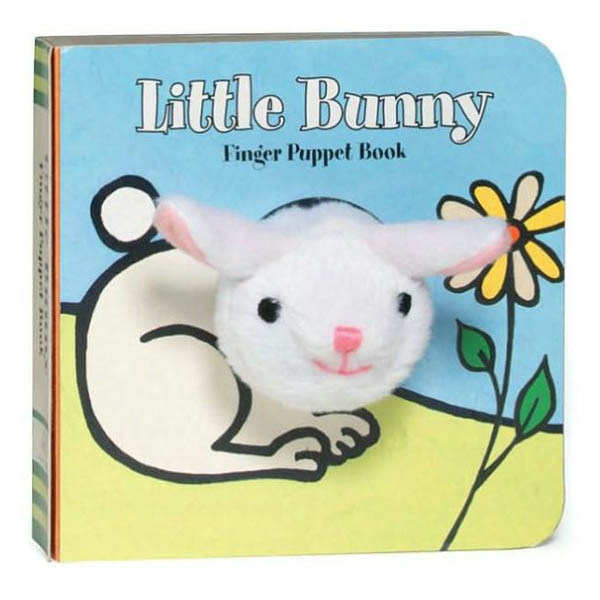 Chronicle Books Little Bunny Finger Puppet Board Book