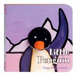 Little Penguin: Finger Puppet Book Board Book
