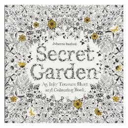 Johanna Basford Secret Garden: An Inky Treasure Hunt and coloring Book (Paperback)