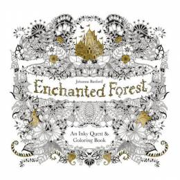 Johanna Basford Enchanted Forest: An Inky Quest & coloring Book (Paperback)