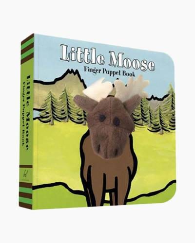 Little Moose: Finger Puppet Book (Hardcover)