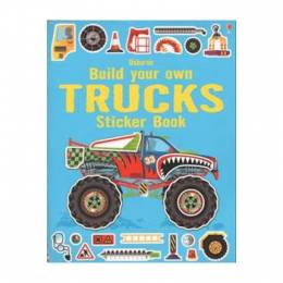 Felicity Brooks Build Your Own Trucks Sticker Book (Paperback)