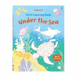 Jessica Greenwell First Coloring Book Under the Sea (Paperback)
