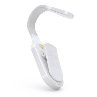 White Sidekick LED Book Light