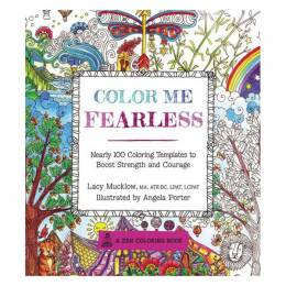 Lacy Mucklow coloring Me Fearless