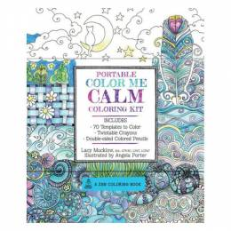 Lacy Mucklow Portable coloring Me Calm coloring Kit (Paperback)