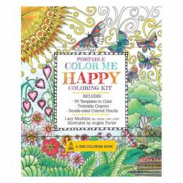 Lacy Mucklow Portable coloring Me Happy coloring Kit (Paperback)