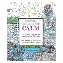 Lacy Mucklow Portable coloring Me Calm (Paperback)