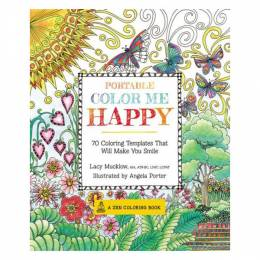Lacy Mucklow Portable coloring Me Happy (Paperback)