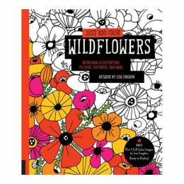 Lisa Congdon Just Add coloring Wildflowers (Paperback)