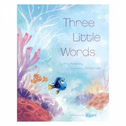 Amy Novesky Finding Dory: Three Little Words (Hardcover)